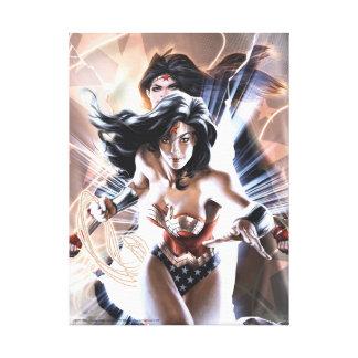 Variante der Wunder-Frauen-Comic-Abdeckungs-#609 Leinwanddruck