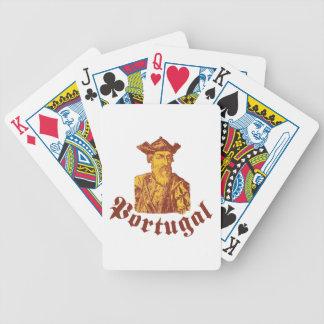 Vasco da Gama Portugal Bicycle Spielkarten