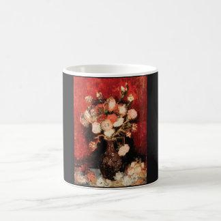 Vasen-MIT nach hinten und Phlox Van Gogh Tasse