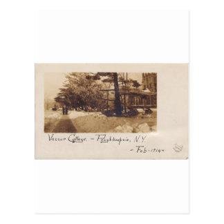 Vassar Uni, im Februar 1914 Postkarte