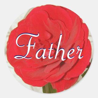 Vater-Rosen-Aufkleber
