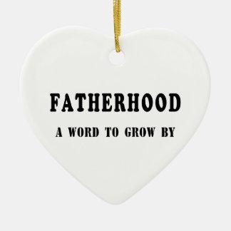 Vaterschaft Keramik Ornament