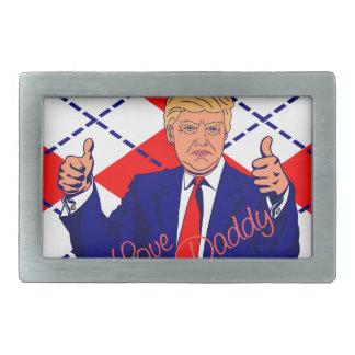 Vatertag Donald Trump Rechteckige Gürtelschnalle