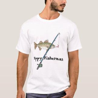Vatertags-niedliches Fischen-T-Shirt für Vati, T-Shirt