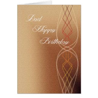 Vati-alles Gute zum Geburtstag Karte