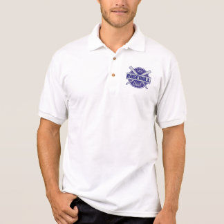 Vati des Baseball-#1 Polo Shirt