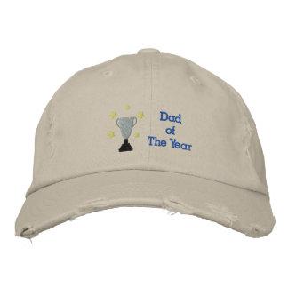 Vati des Jahr gestickten beunruhigten Hutes Bestickte Mütze