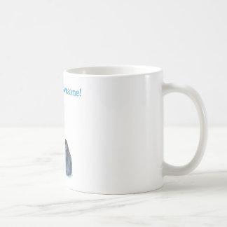 Vati ist fantastische Penguins-Weiß-Tasse Tasse