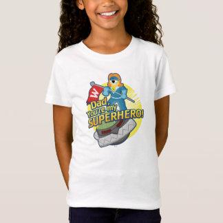 Vati, sind Sie mein Superheld T-Shirt