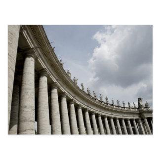 Vatikanstadt ist ein Stadtstaat, den in kam Postkarte