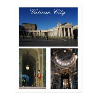 Vatikanstadt Multi-Ansicht Postkarte