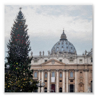 Vatikanstadt-Weihnachten Poster