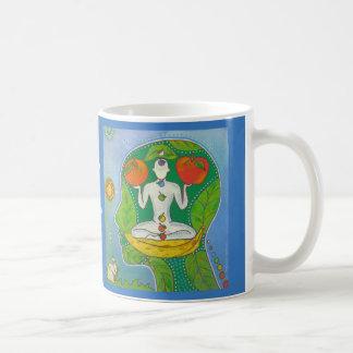 Vegan keep calm eat fruits mug tasse