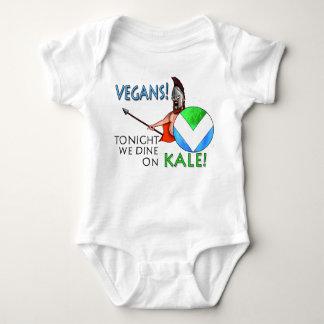 """Veganes Schild der Flaggen-300, """"heute Abend, das Baby Strampler"""
