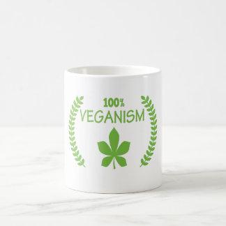 Veganism-Tassen 100% Tasse