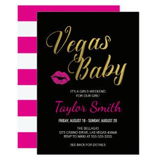 Vegas-Baby-Party Einladung