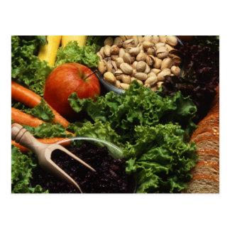 Vegetarische Diät Postkarte