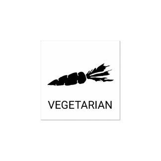 Vegetarische Hochzeits-Mahlzeit-Wahl Gummistempel