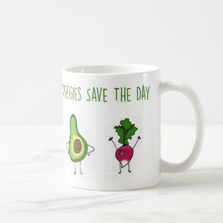 Veggies retten die Tagesavocado-und -rettich-Tasse Tasse