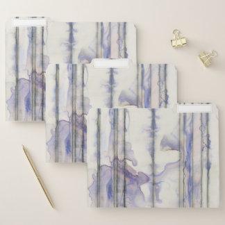 Veilchen-freies Ausdruck-Aquarell Papiermappe