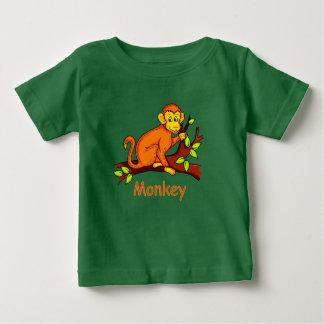 Vektorillustration Affe Baby T-shirt