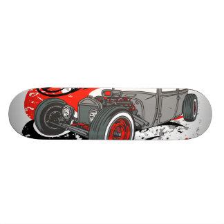 Veloursleder-und Chrom-Ratten-Plattform Skateboarddeck