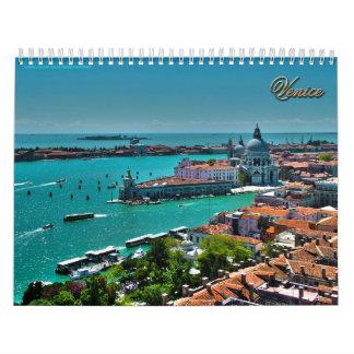 Venedig, Italien - Luftaufnahme Wandkalender