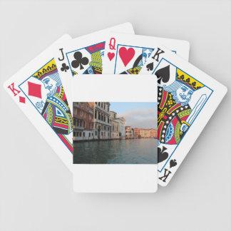 Venedig, Italien Pokerkarten
