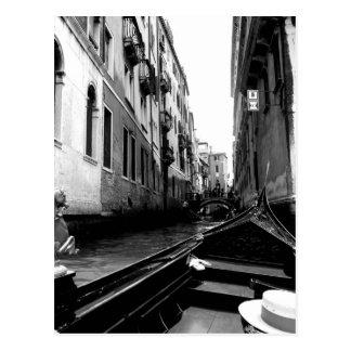 Venedig-Kanäle Postkarte