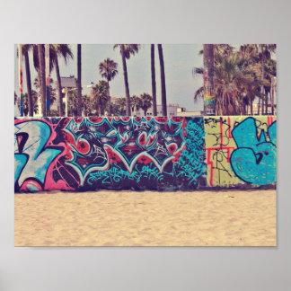 Venedig-Strand Kalifornien Poster