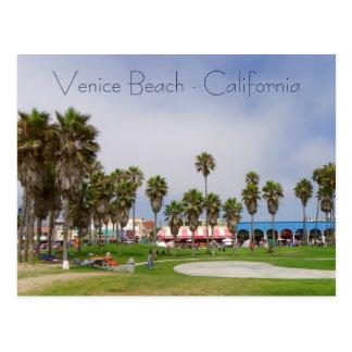 Venedig-Strand-Postkarte! Postkarten