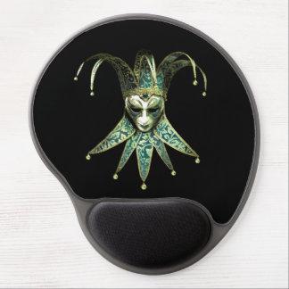 Venezianische Joker-Masken-Gel-Mausunterlage Gel Mousepad