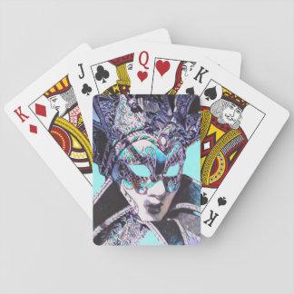 Venezianische Maskerade Spielkarten