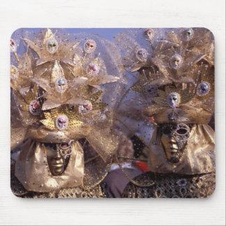Venezianische Paare mit goldenen Mousepads