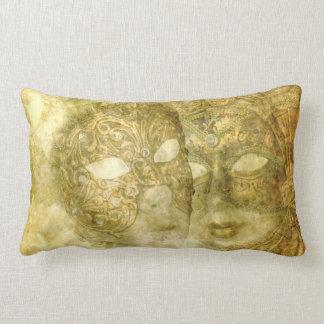 Venezianisches Maskenlumbar-Kissen Zierkissen