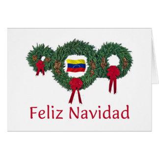 Venezuela-Weihnachten 2 Grußkarte