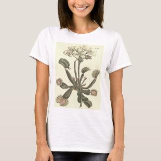 Venus Fliegenfalle botanische Illustration T-Shirt