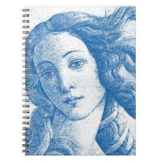 Venus * Sandro Botticelli Notizblock