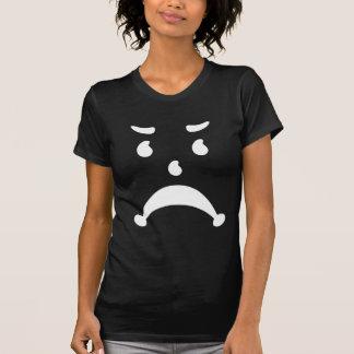 Verärgerte traurige 80er Kinderparodie T-shirts