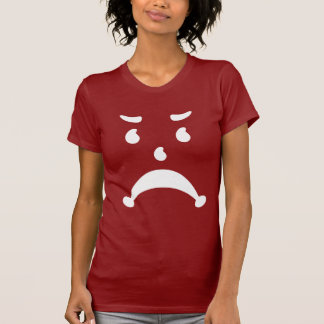 Verärgerte traurige 80er Kinderparodie T Shirts