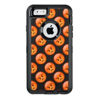 Verärgerter Emoji Telefon-Kasten OtterBox iPhone 6/6s Hülle