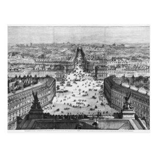 Verbesserungen nach Paris Postkarte