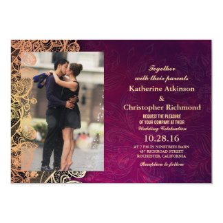 Verbinden Sie Romanze Kuss im Brunnen/in lila Karte