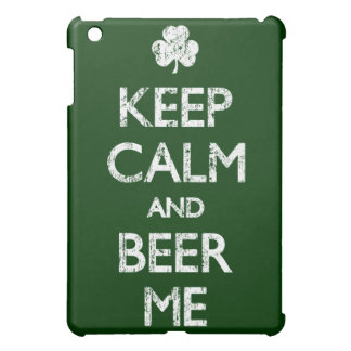 Verblaßt behalten Sie Ruhe und Bier ich Hülle Für iPad Mini