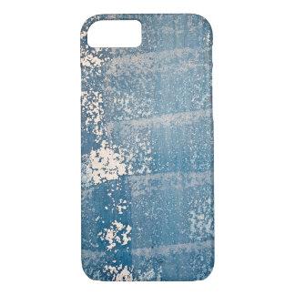 verblaßte blaue Farbenbeschaffenheit iPhone 7 Hülle