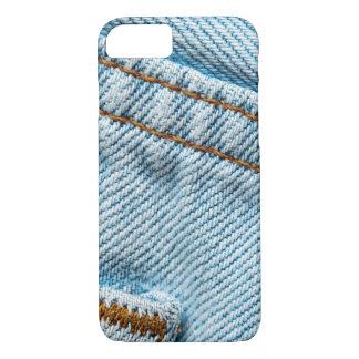 Verblaßte Blue Jeans iPhone 7 Hülle