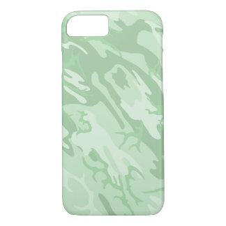 Verblaßte grüne Camouflage iPhone 8/7 Hülle