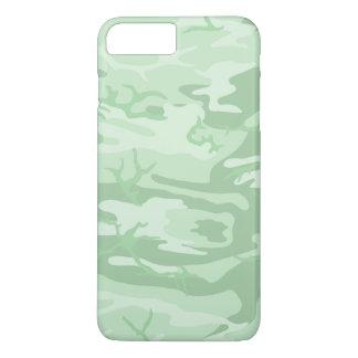 Verblaßte grüne Camouflage iPhone 8 Plus/7 Plus Hülle