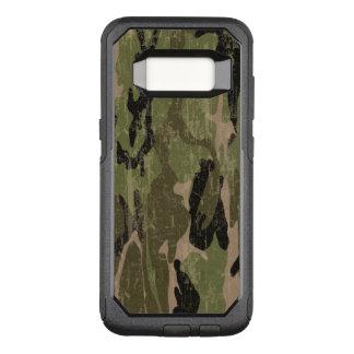 Verblaßte grüne Camouflage OtterBox Commuter Samsung Galaxy S8 Hülle