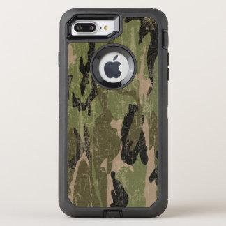 Verblaßte grüne Camouflage OtterBox Defender iPhone 8 Plus/7 Plus Hülle